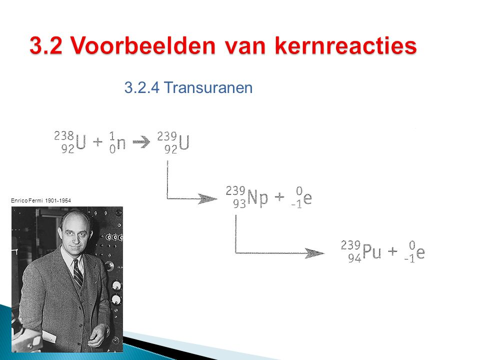 3.2.4 Transuranen Enrico Fermi 1901-1954