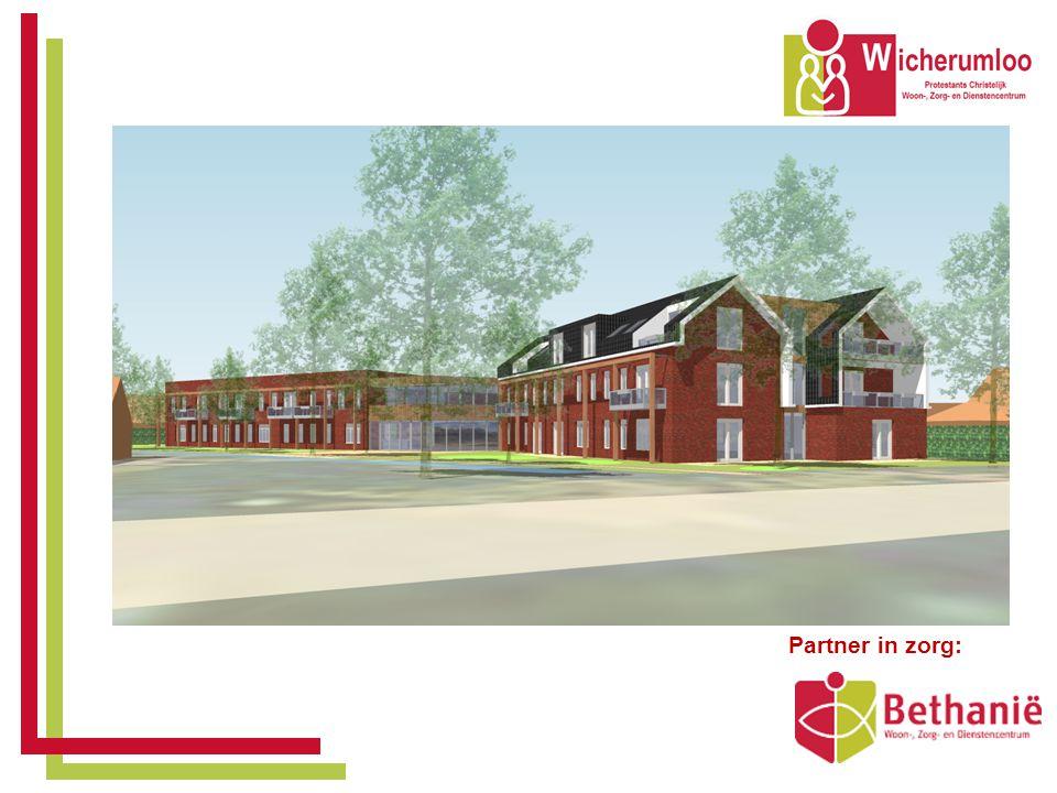 Indeling gebouw • 14 appartementen Beschermd wonen - voor senioren met een vorm van dementie.