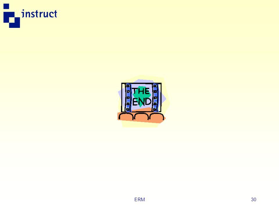 ERM29 Uitgewerkt voorbeeld  Een ERD maken leer je het beste in de praktijk.  Bekijk in je boek een uitgewerkt voorbeeld van een bestelproces in een