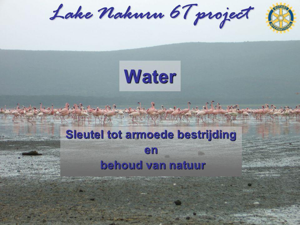 Lake Nakuru 6T project Water Sleutel tot armoede bestrijding en behoud van natuur behoud van natuur