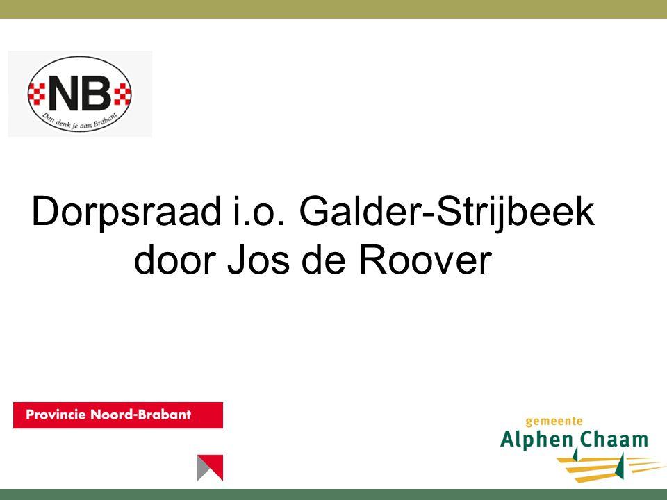 Dorpsraad i.o. Galder-Strijbeek door Jos de Roover
