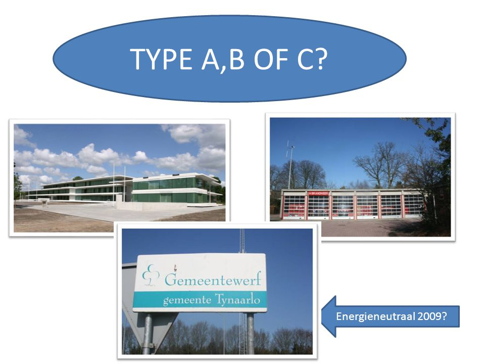 TYPE A,B OF C Energieneutraal 2009