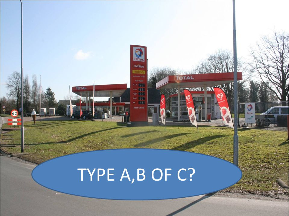 TYPE A,B OF C