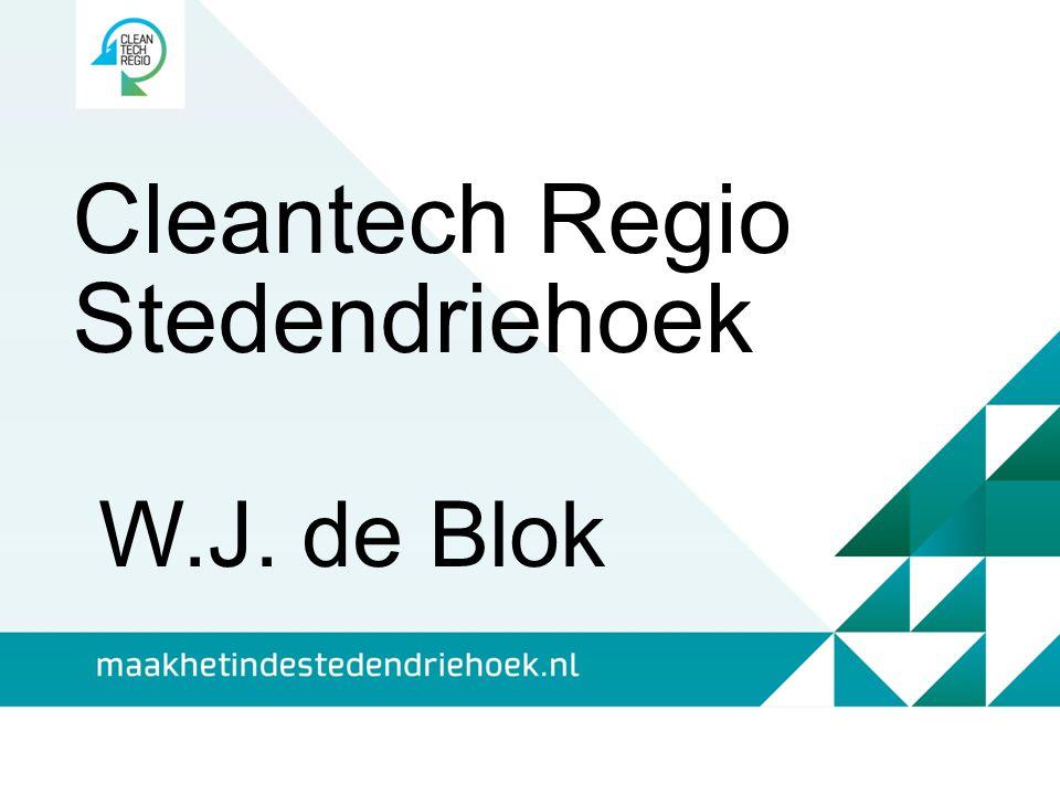Cleantech Regio Stedendriehoek W.J. de Blok