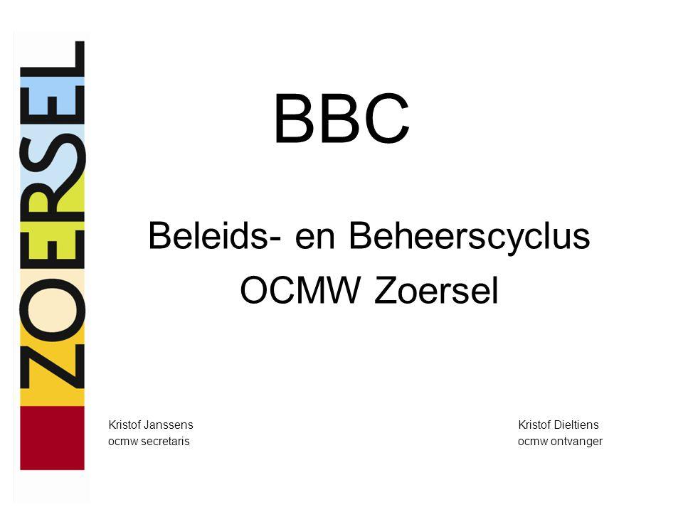 BBC Beleids- en Beheerscyclus OCMW Zoersel Kristof JanssensKristof Dieltiens ocmw secretarisocmw ontvanger