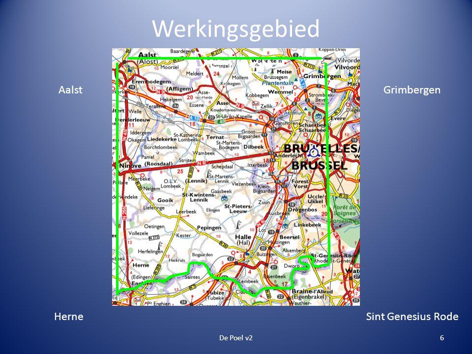 Werkingsgebied De regio De Poel v26 Aalst Sint Genesius Rode Grimbergen Herne