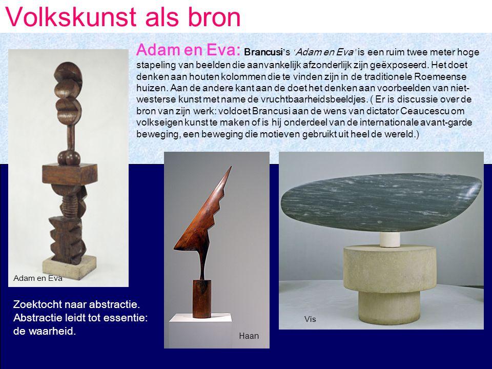 Volkskunst als bron Haan Vis Zoektocht naar abstractie.