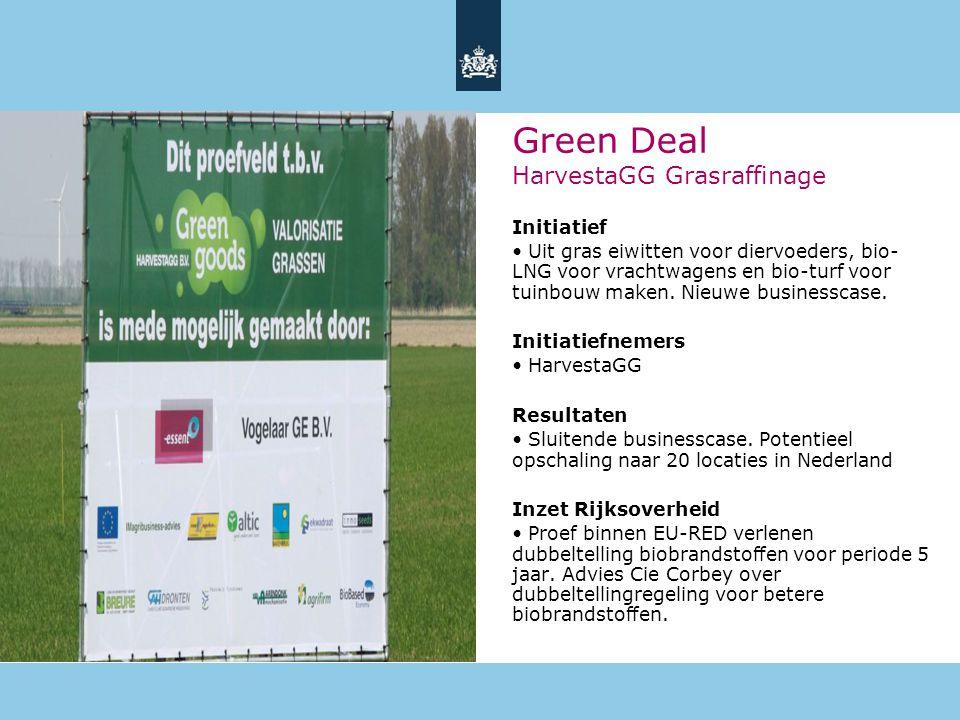 15 Initiatief • Uit gras eiwitten voor diervoeders, bio- LNG voor vrachtwagens en bio-turf voor tuinbouw maken.