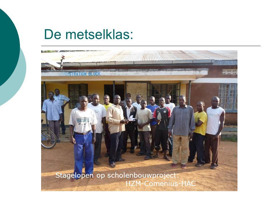 De metselklas: Stagelopen op scholenbouwproject: HZM-Comenius-HAC