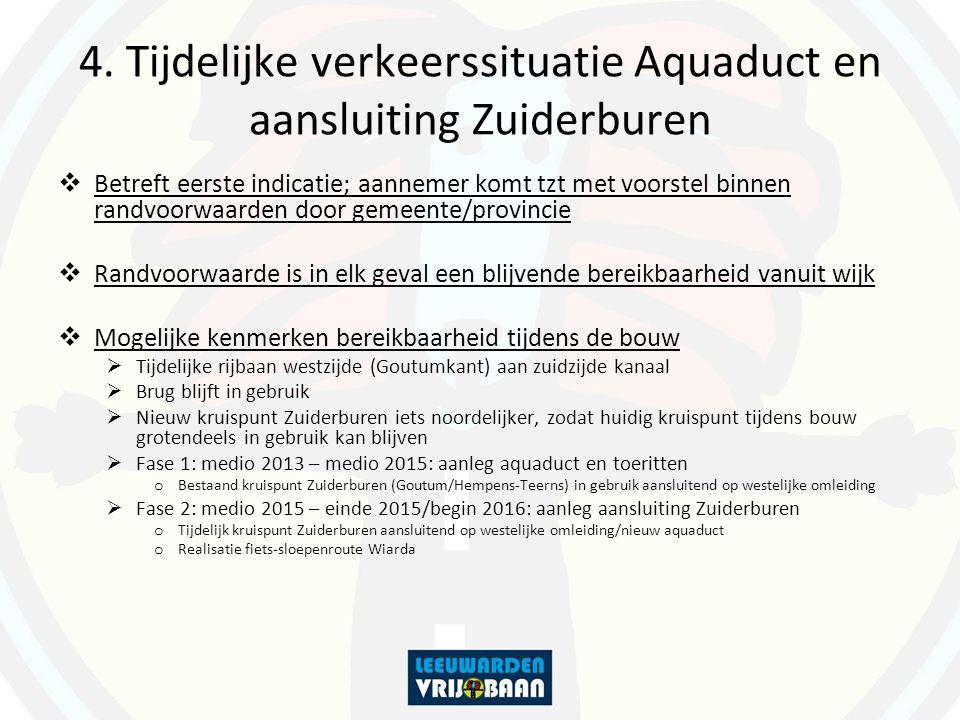 Fase 1: Bouw aquaduct + toeritten