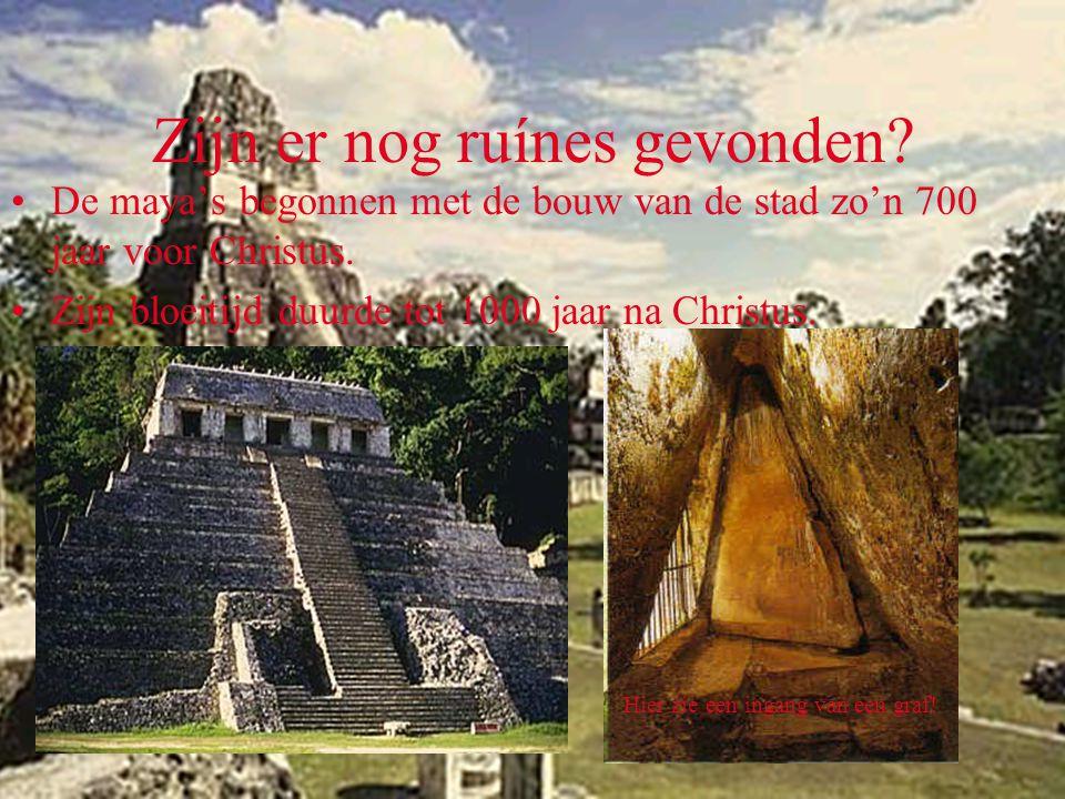 Welke goden hebben de maya's •De maya's hadden de volgende goden: •Chac=de regengod.