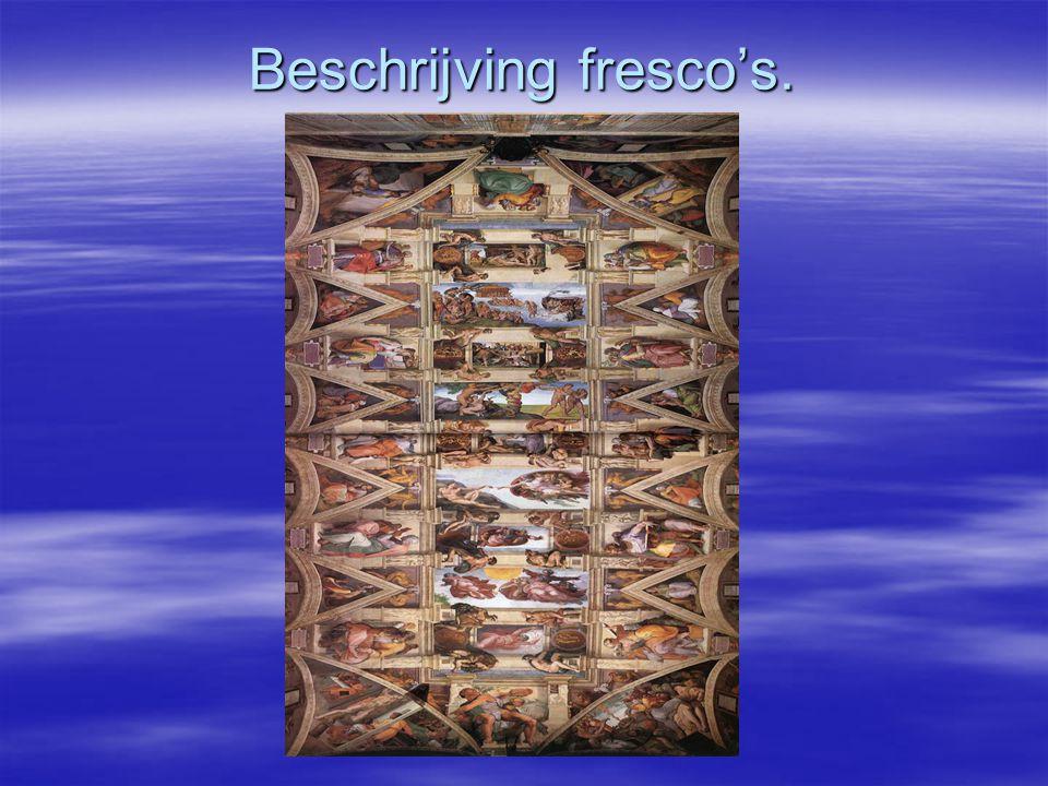 Beschrijving fresco's.