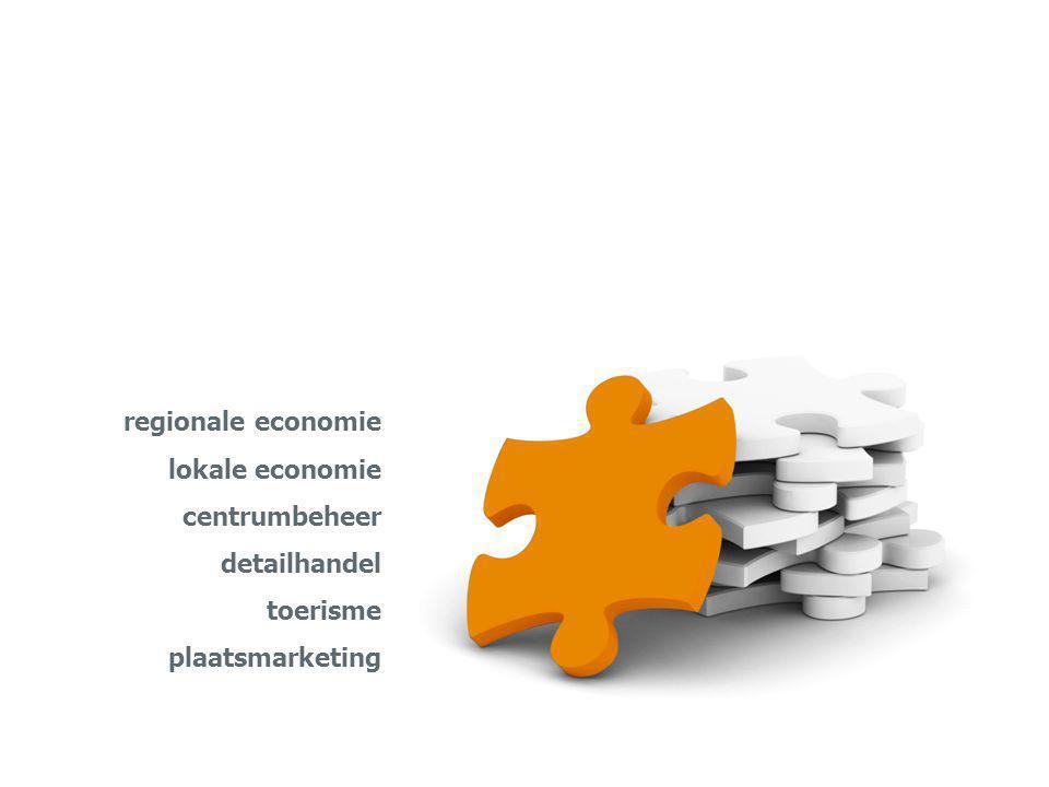 regionale economie lokale economie centrumbeheer detailhandel toerisme plaatsmarketing