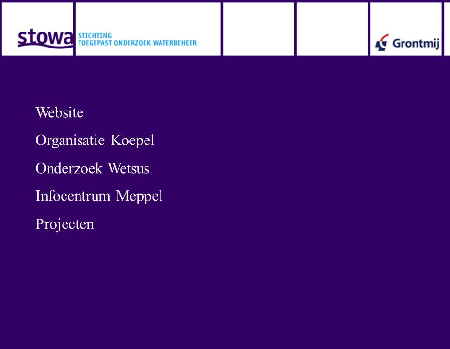 Website Organisatie Koepel Onderzoek Wetsus Infocentrum Meppel Projecten