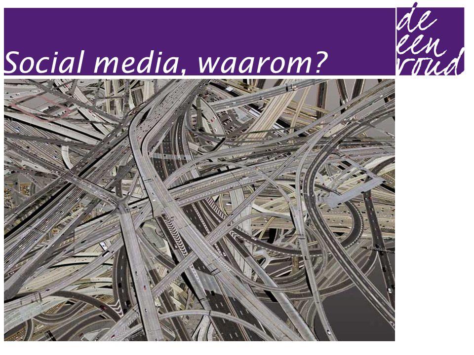 Social media, waarom