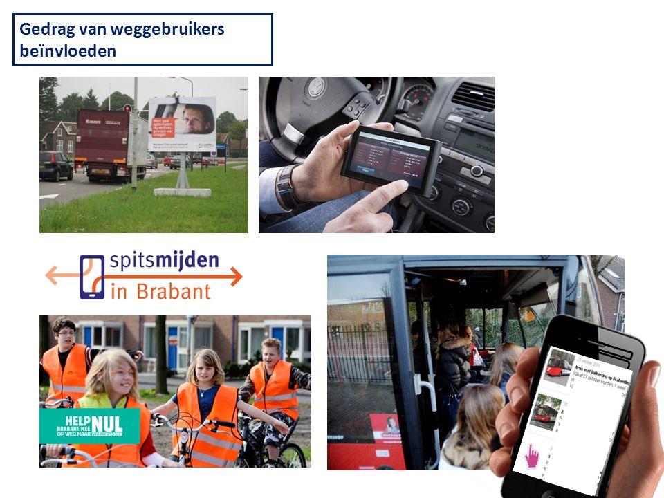 Pijler 3: Beïnvloeden Actie met Dalkorti ng op Brabant liner Kwaliteit sverken ners gezocht! Gedrag van weggebruikers beïnvloeden