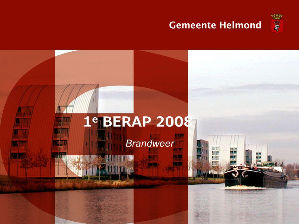 1 e BERAP 2008 Brandweer
