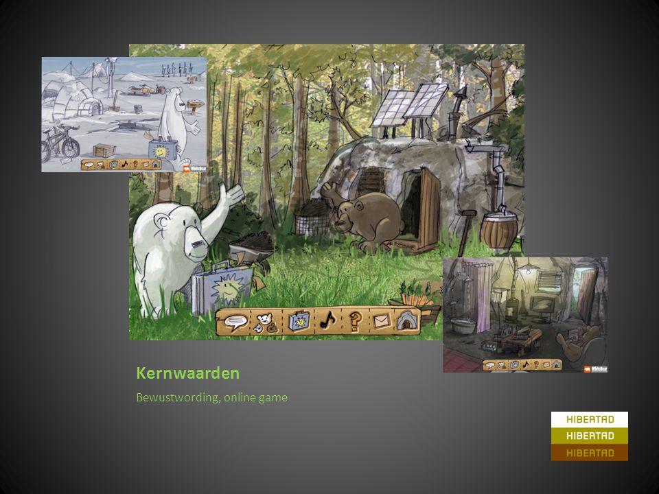 Kernwaarden Bewustwording, online game