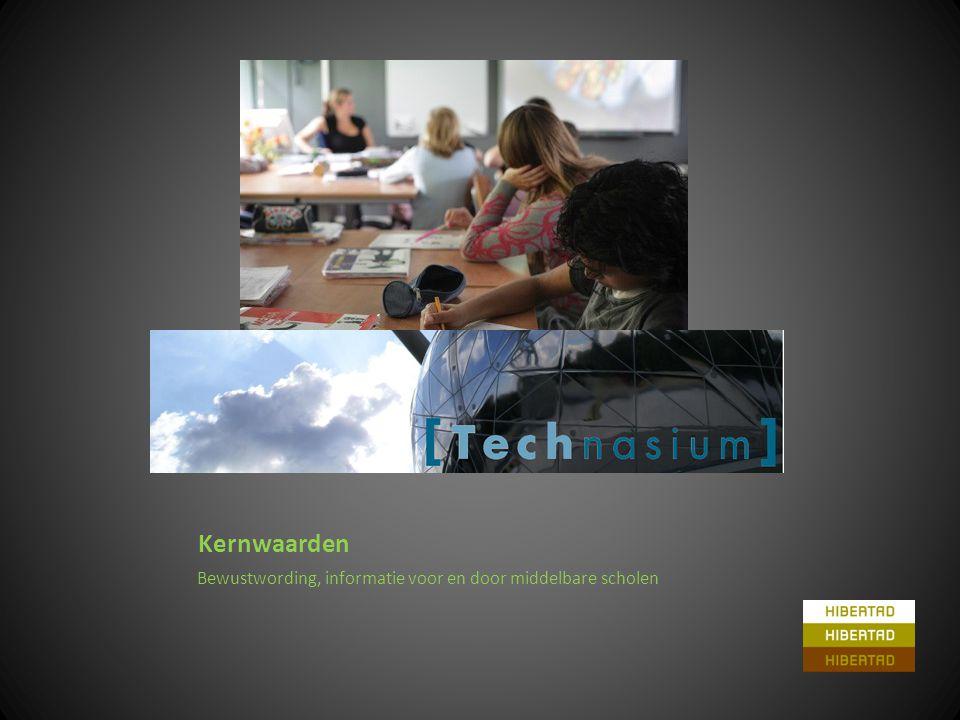 Kernwaarden Bewustwording, informatie voor en door middelbare scholen