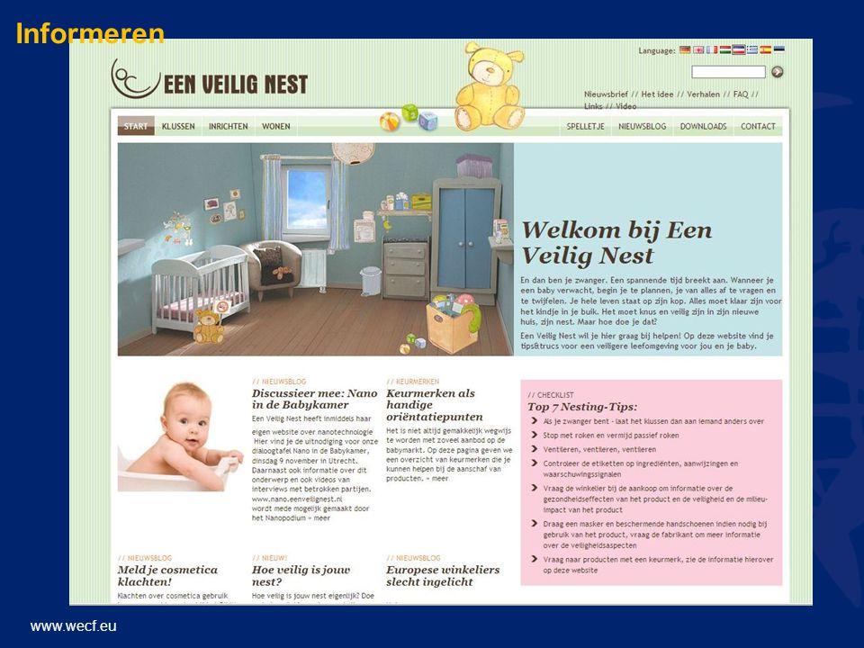 www.wecf.eu Informeren