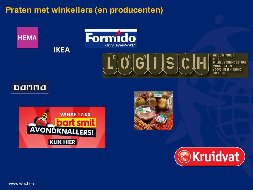 www.wecf.eu Praten met winkeliers (en producenten) IKEA