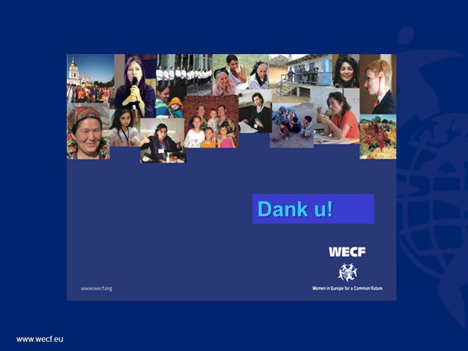 www.wecf.eu Dank u!