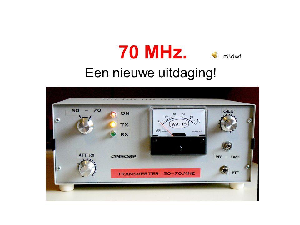 Interessante 4M internet links •http://www.70mhz.org/http://www.70mhz.org/ •http://ha1ya.config.hu/http://ha1ya.config.hu/ •http://rudius.net/oz2m/70mhz/http://rudius.net/oz2m/70mhz/ •http://www.veron.nl/ Kijk op de VHF/UHF commissie sitehttp://www.veron.nl/ •http://www.on4kst.com/chat/start.phphttp://www.on4kst.com/chat/start.php •http://www.pa2v.com/http://www.pa2v.com/ •http://www.nvra.net/ ??????http://www.nvra.net/