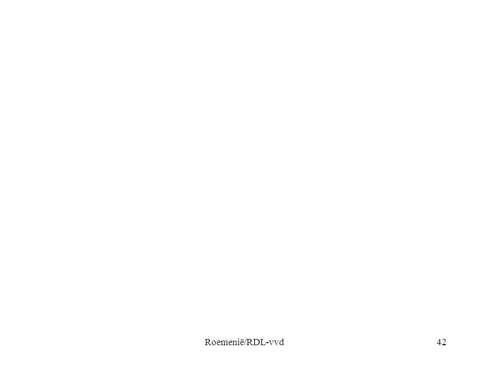 Roemenië/RDL-vvd42