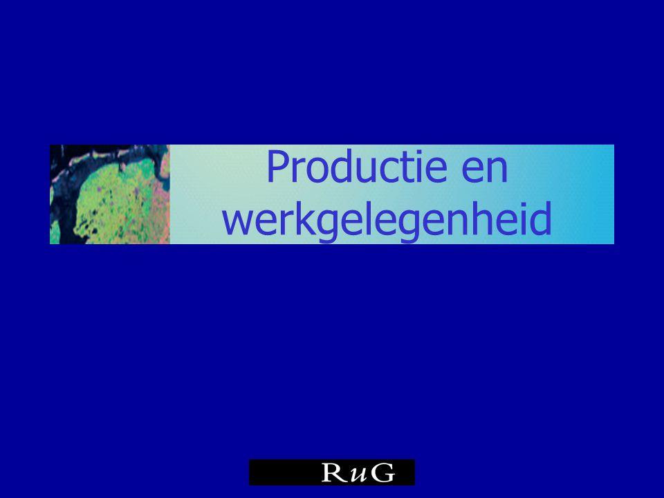 Groei bruto regionaal product Noorden en Nederland in % prognose Bron: CBS/RUG