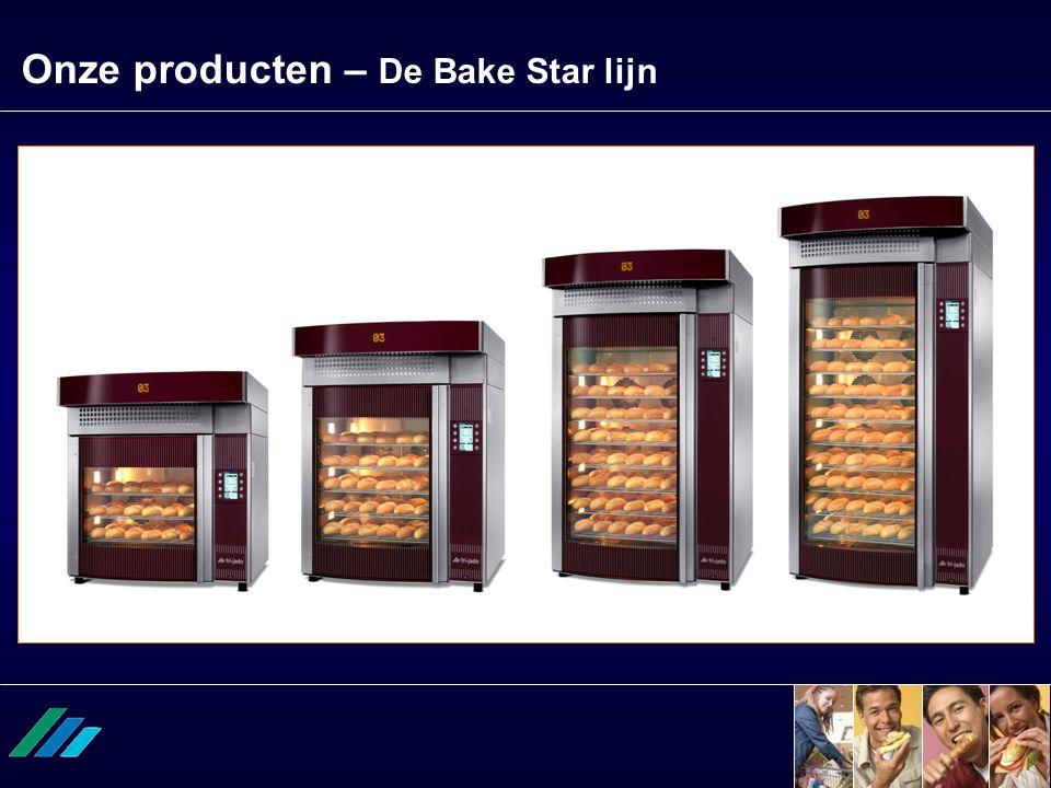 Onze producten – De Bake Star lijn