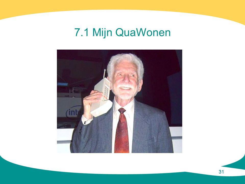 31 7.1 Mijn QuaWonen