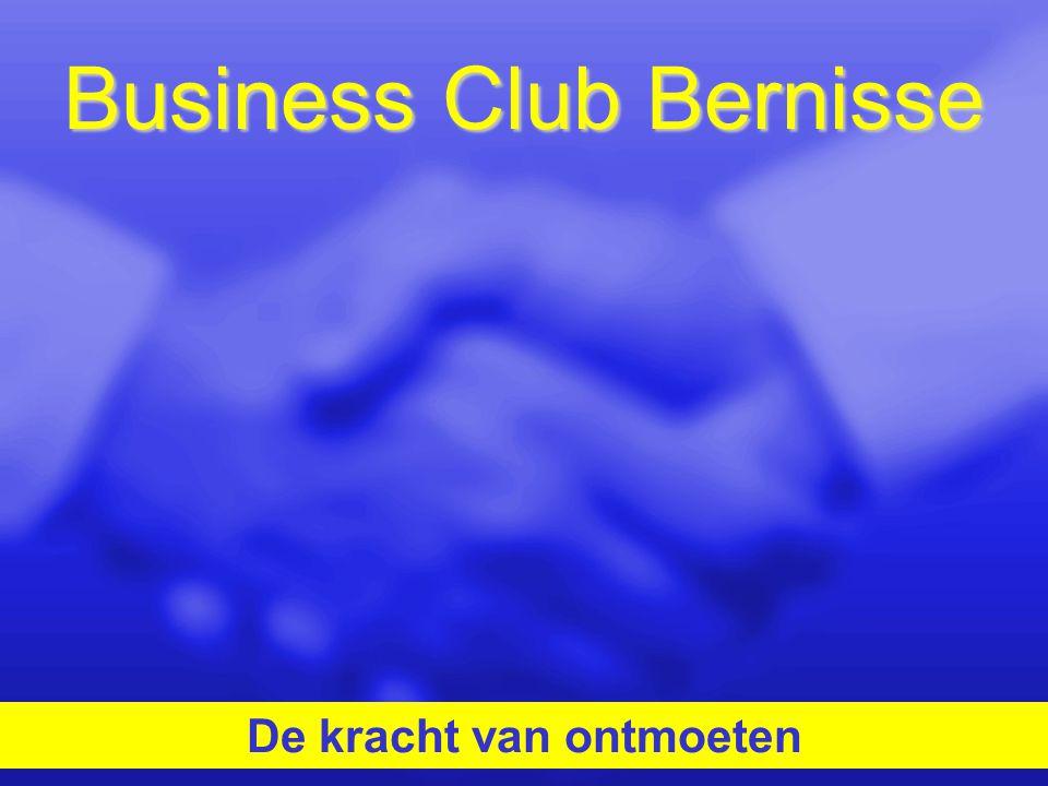 Business Club Bernisse De kracht van ontmoeten