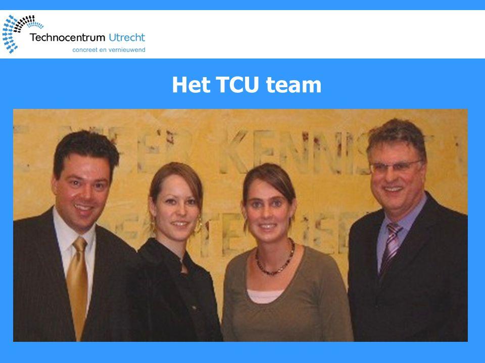 Het TCU team