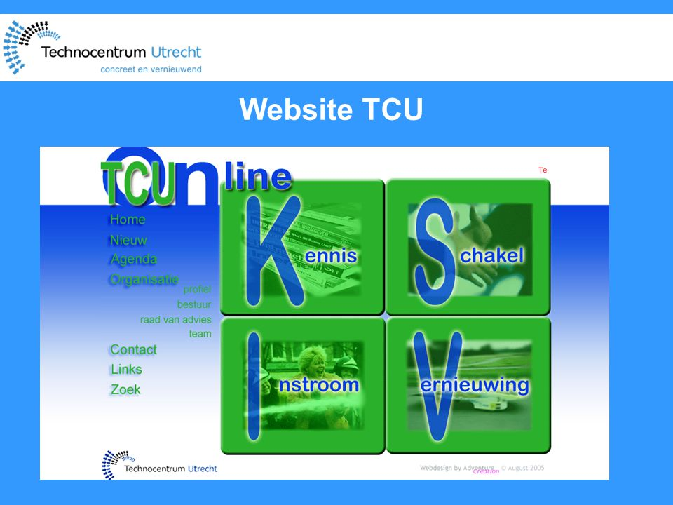 Website TCU