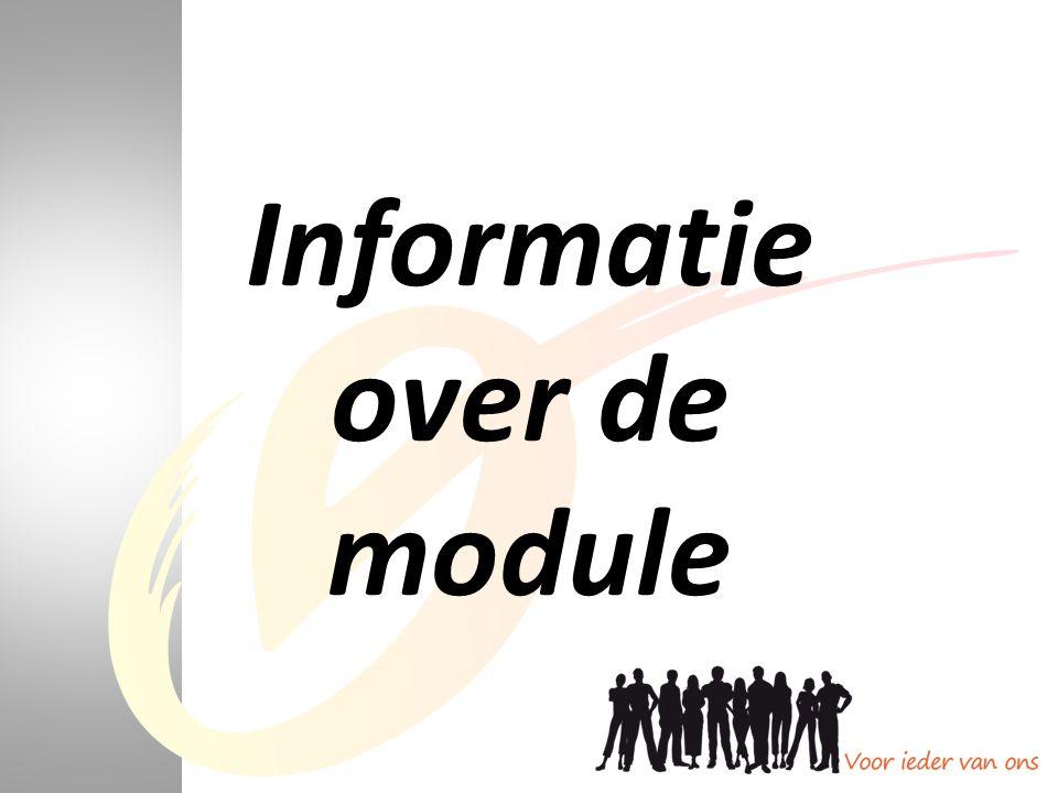 Informatie over de module