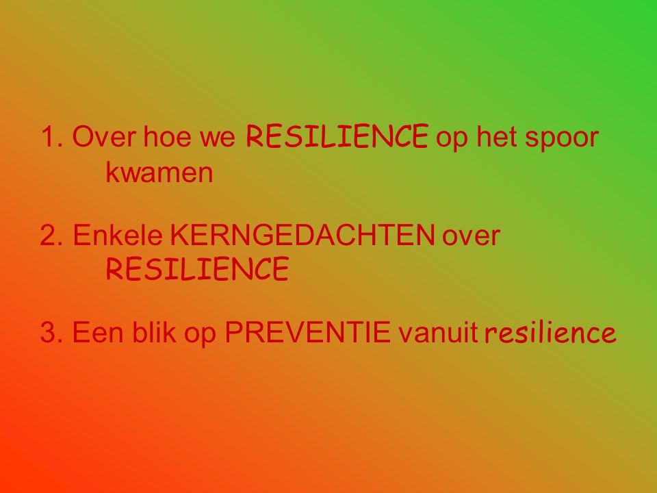 Concrete ervaring •Preventie van geweld op basisscholen •Preventie van ziekteverzuim