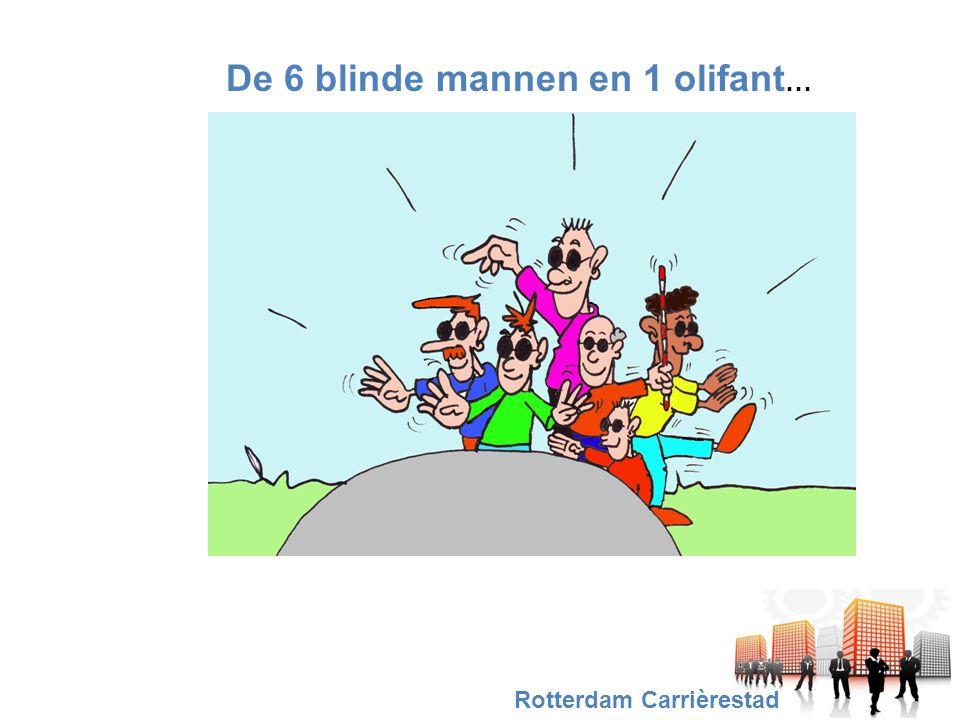 De 6 blinde mannen en 1 olifant … Rotterdam Carrièrestad