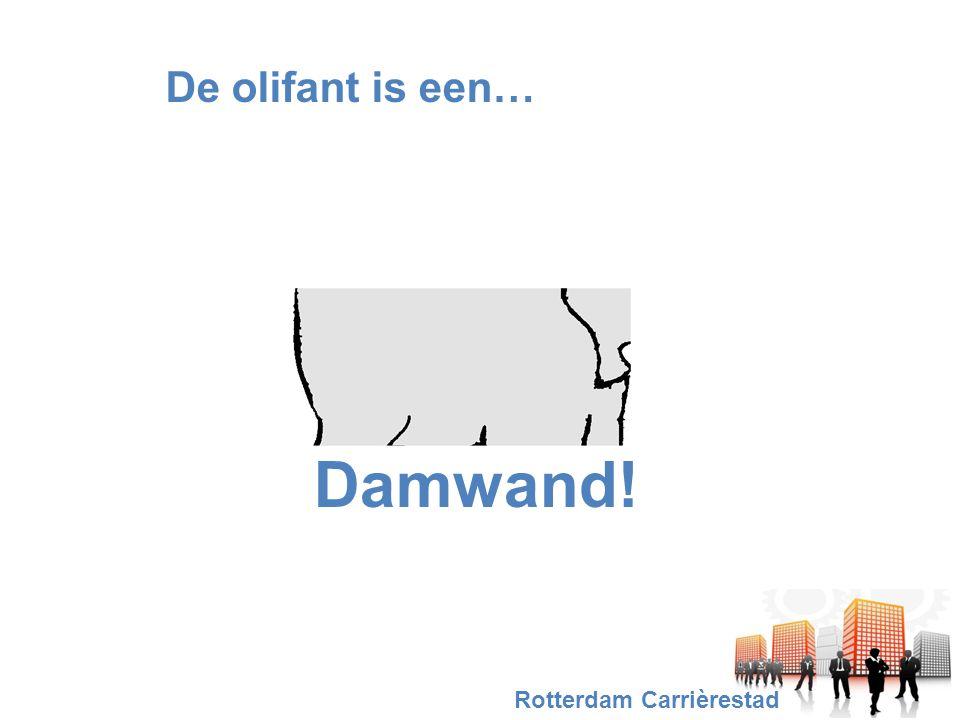 De olifant is een… Damwand! Rotterdam Carrièrestad