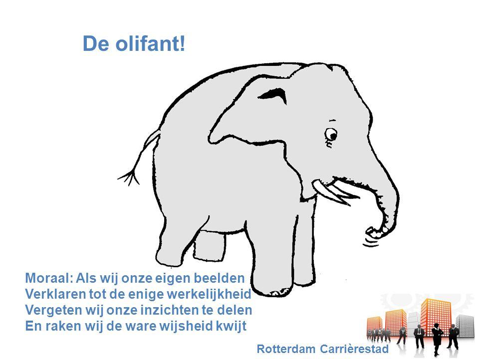 De olifant.