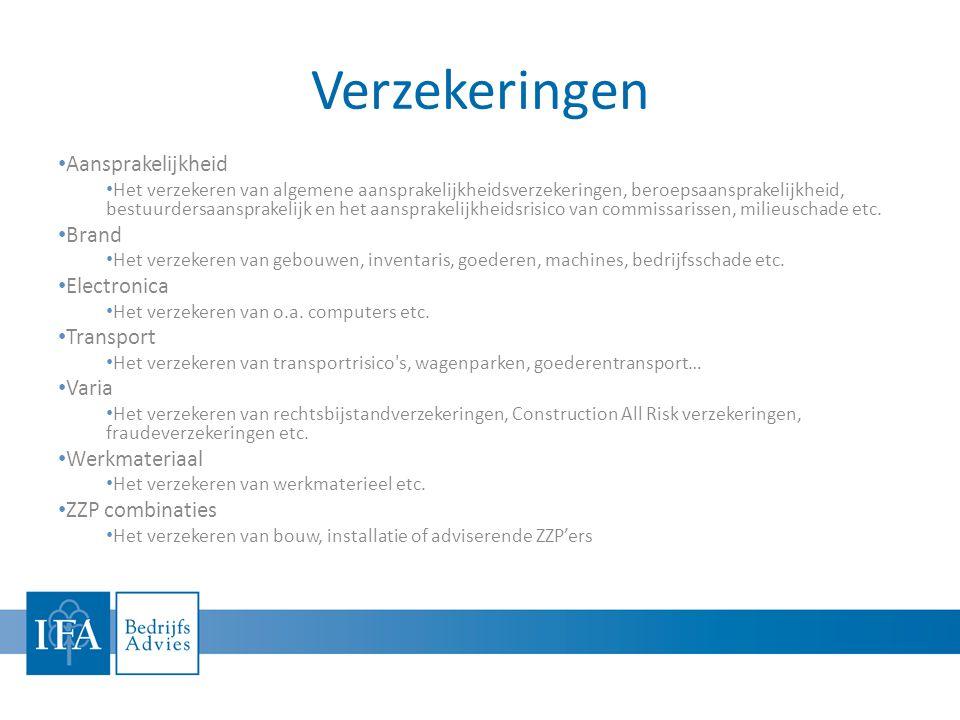 Verzekeringen • Aansprakelijkheid • Het verzekeren van algemene aansprakelijkheidsverzekeringen, beroepsaansprakelijkheid, bestuurdersaansprakelijk en het aansprakelijkheidsrisico van commissarissen, milieuschade etc.