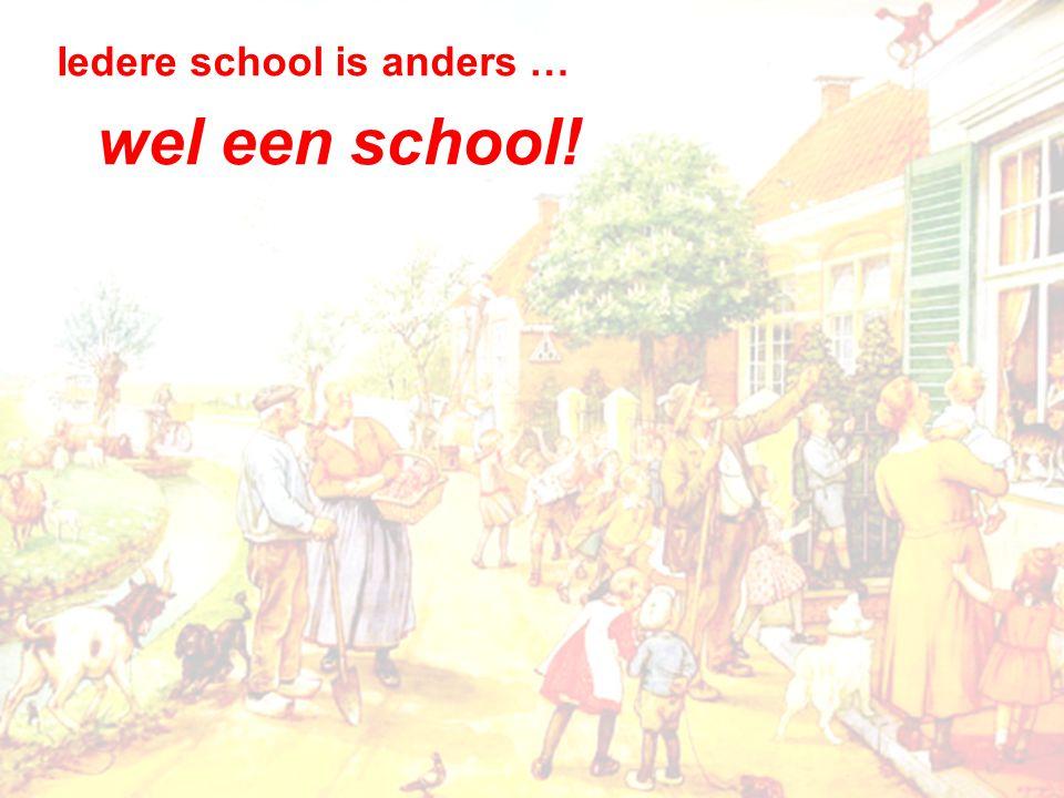 wel een school!