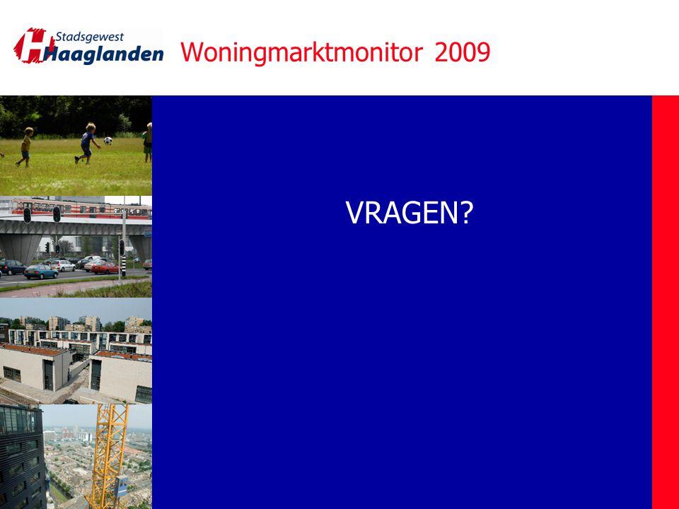 Woningmarktmonitor 2009 VRAGEN