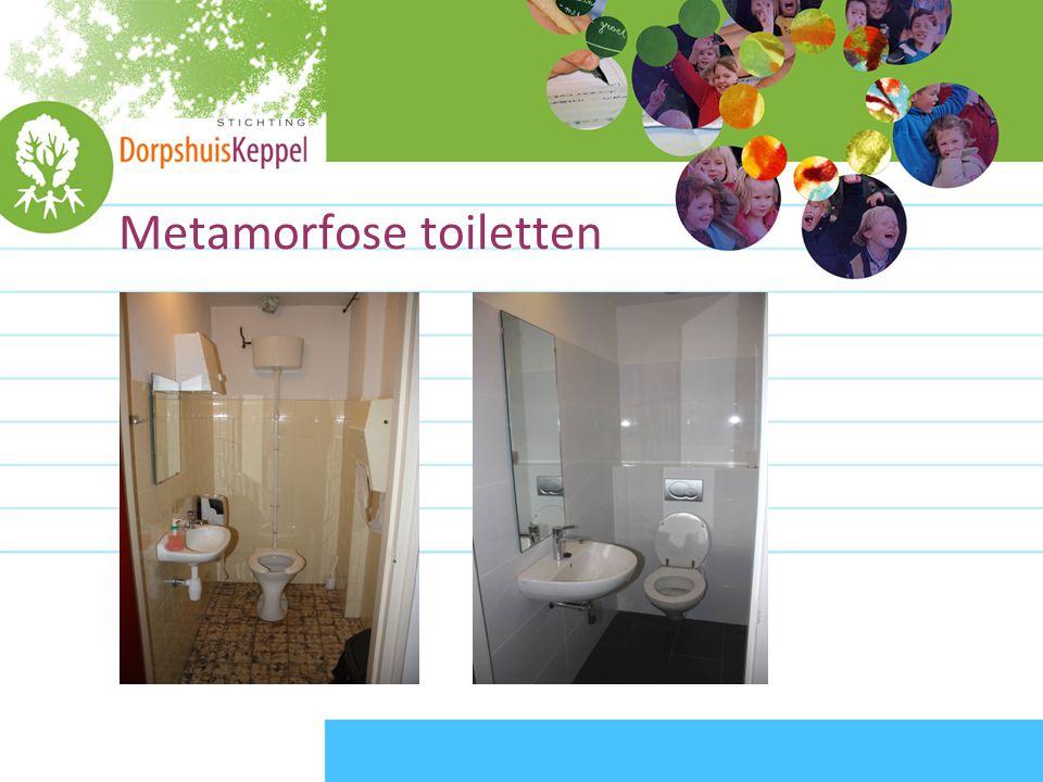 Metamorfose toiletten