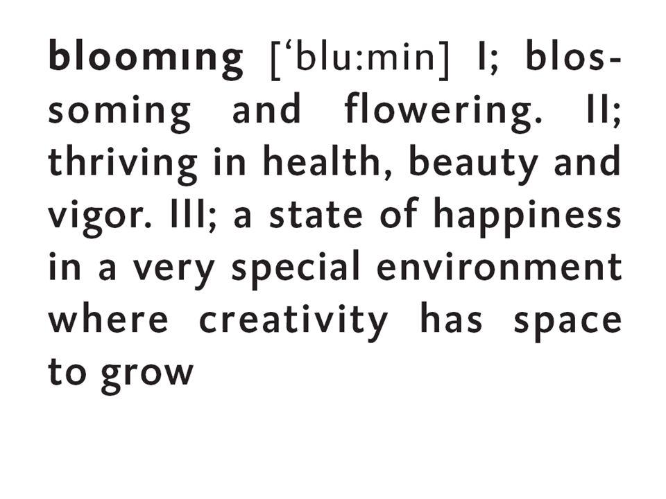 bloomıng