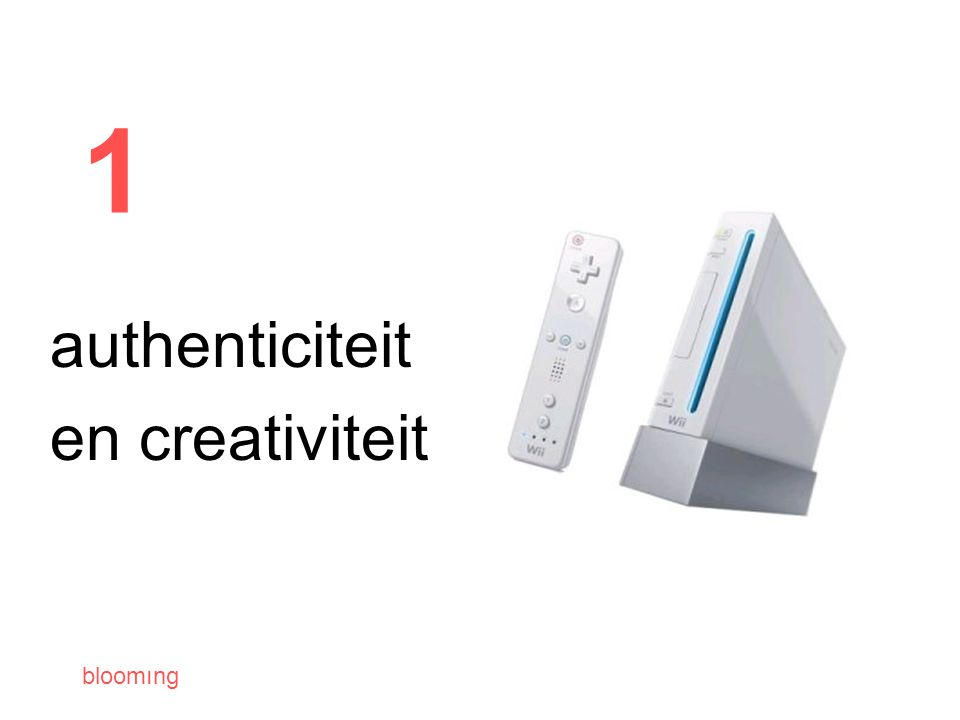 bloomıng 1 authenticiteit en creativiteit