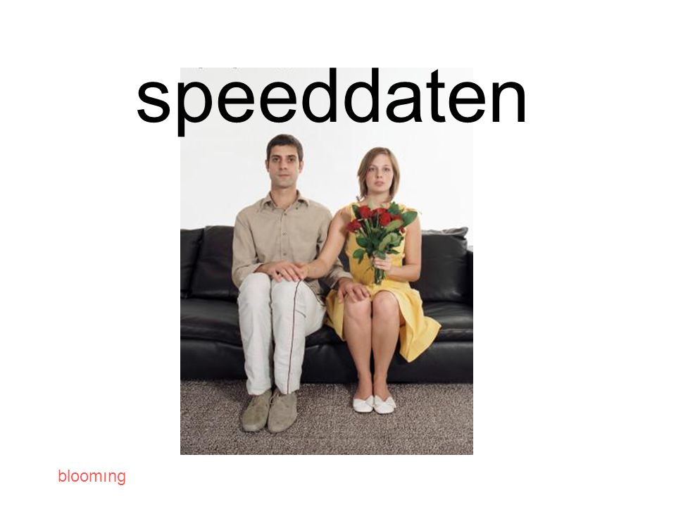 bloomıng speeddaten
