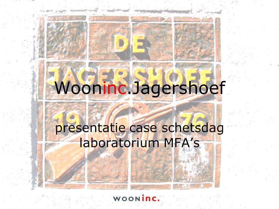 Wooninc.Jagershoef presentatie case schetsdag laboratorium MFA's