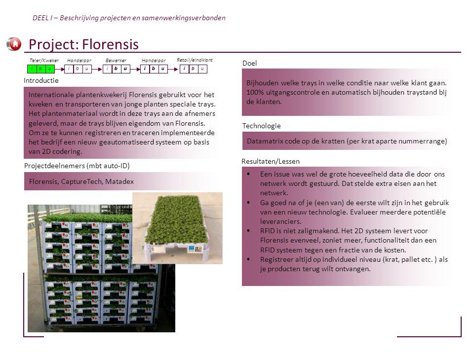 Internationale plantenkwekerij Florensis gebruikt voor het kweken en transporteren van jonge planten speciale trays. Het plantenmateriaal wordt in dez