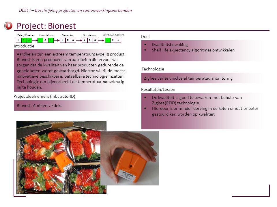 Aardbeien zijn een extreem temperatuurgevoelig product. Bionest is een producent van aardbeien die ervoor wil zorgen dat de kwaliteit van haar product