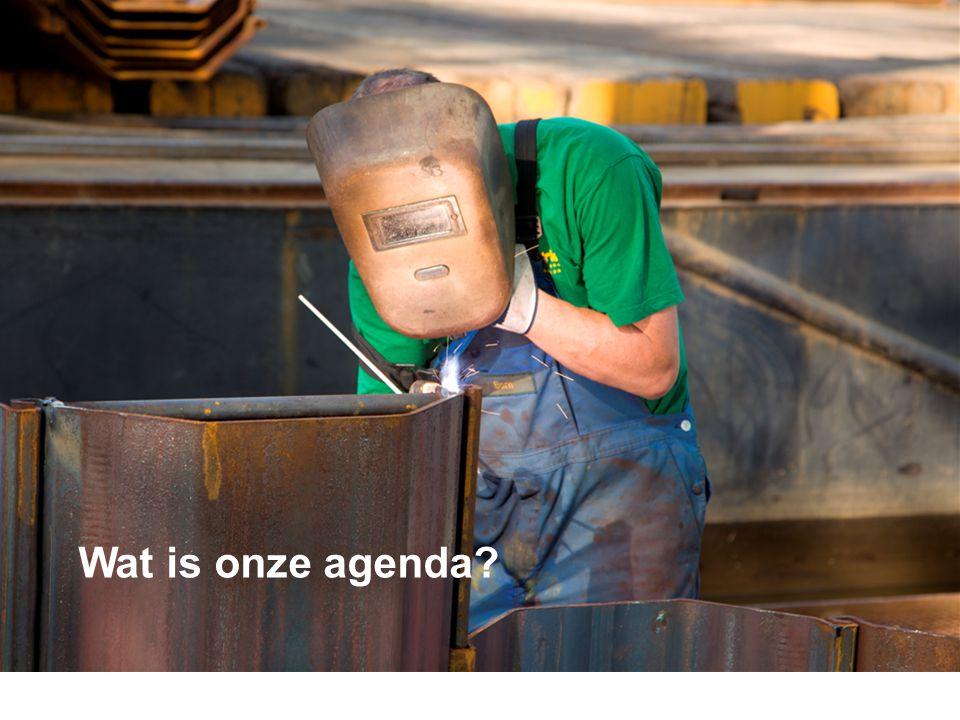 Wat is onze agenda? dia